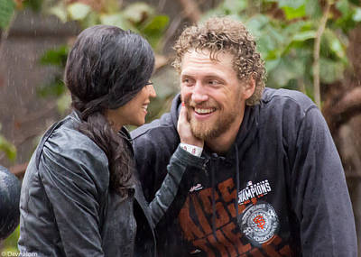Hunter Pence Photograph - Hunter And Alexis  by David Horn