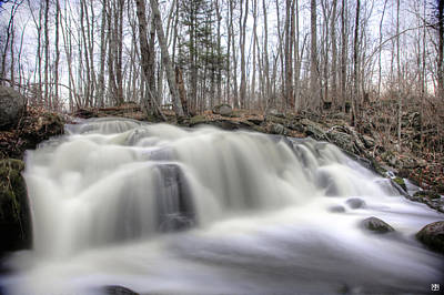 Photograph - Hunter Brook Falls by John Meader