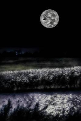 Photograph - Hunters Moon by Garett Gabriel