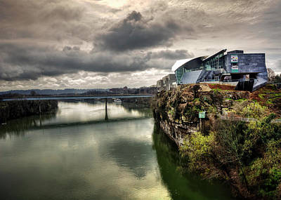 Photograph - Hunter Museum And Tennessee River by Greg Mimbs