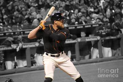 Hunter Pence Photograph - Hunter Pence by Erik Dunn