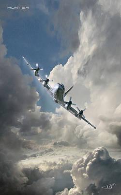 Cockpit Digital Art - Hunter    by Peter Van Stigt