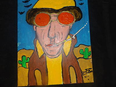 Hunter S. Thompson Painting - Hunter by Rob  Tudor