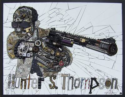 Hunter S. Thompson Art Print