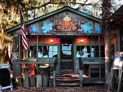Hunters Cafe Art Print