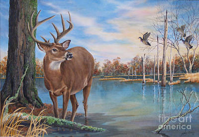 Hunters Dream Sold Art Print