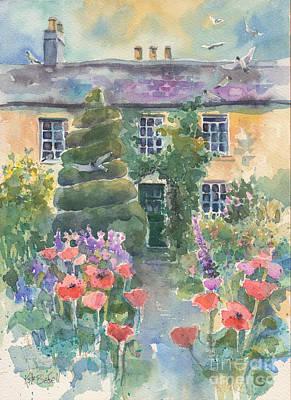 Hunters Hotel Ashford County Wicklow Ireland Art Print by Kate Bedell