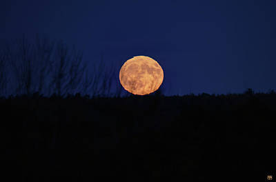 Photograph - Hunter's Moon by John Meader