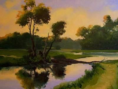 Painting - Hunters Path by David Rodman Johnson