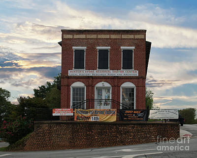 Photograph - Hunter's Store In Pendleton Sc by Dale Powell