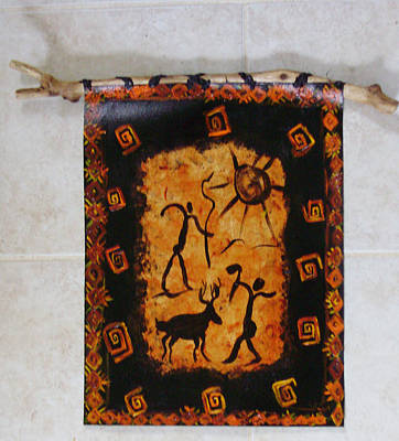 Painting - Hunters Wall Hanging by Shelley Bain
