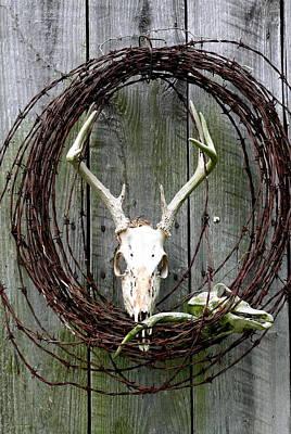 Hunters Wreath Variation Art Print by Diane Merkle