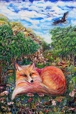 Hunters  Art Print