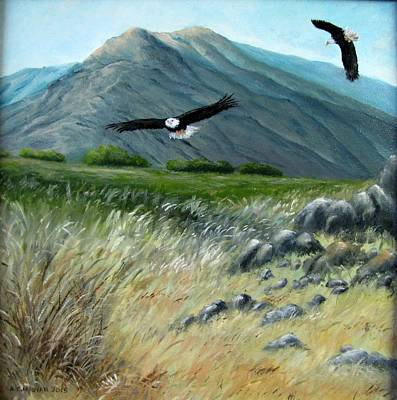 Painting - Hunting by Boris Garibyan