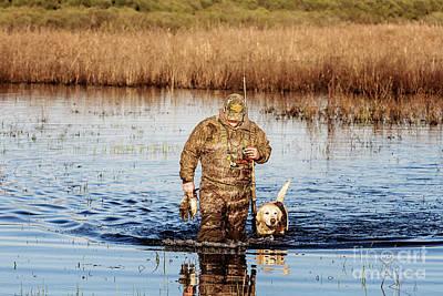 Gun Dog Photograph - Hunting Buddies by Scott Pellegrin
