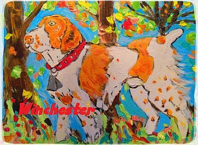 Pheasant Mixed Media - Hunting Dog by Samuel Zylstra
