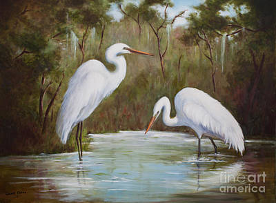 Painting - Hunting For Prey by Glenda Cason