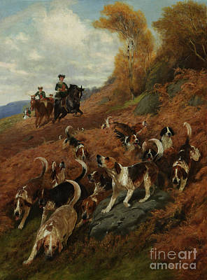 Charlton Painting - Hunting In Olden Times by MotionAge Designs