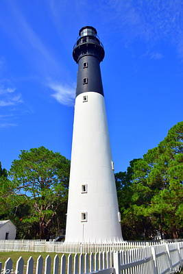 Photograph - Hunting Island Lighthouse Beaufort Sc by Lisa Wooten