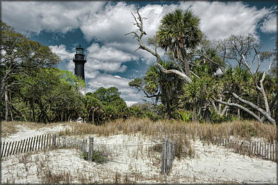 Photograph - Hunting Island Lighthouse by Erika Fawcett
