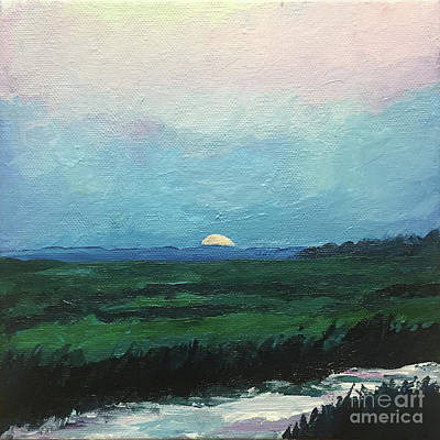 Painting - Hunting Island Marsh by Brian M White