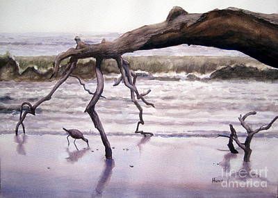 Hunting Island Sculpture Art Print