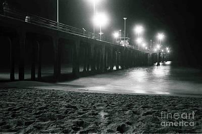 Grateful Dead - Huntington Beach Pier by Denny Howard