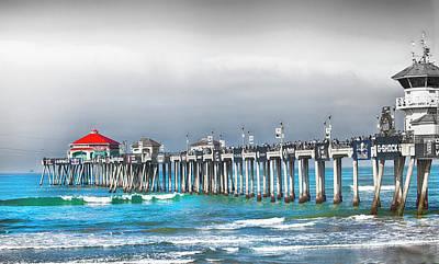 Us Open Photograph - Huntington Beach Us Open by Rosanne Nitti
