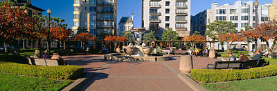Sf Photograph - Huntington Park, Nob Hill, San by Panoramic Images