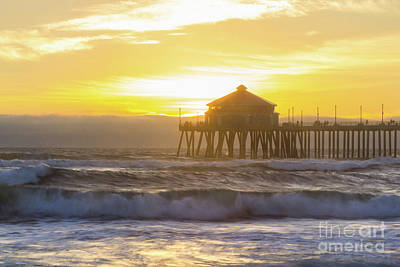 Huntington Peir 2 Art Print