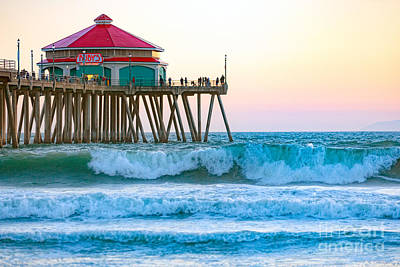 Photograph - Huntington Pier by Anthony Baatz