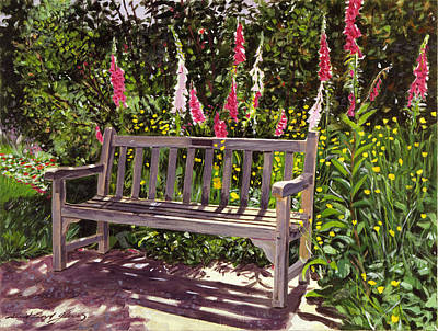 Painting - Huntington Spring by David Lloyd Glover