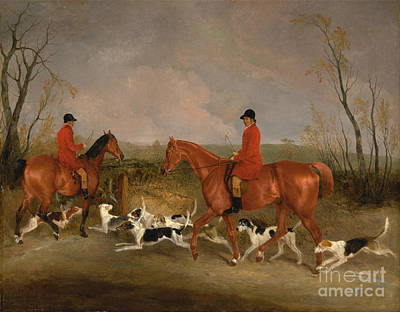 Melton Painting - Huntsman To The Quorn by Celestial Images