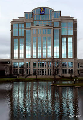 Photograph - Huntsville Alabama Rbc Bank Building by Lesa Fine
