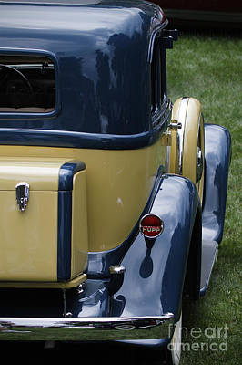 Photograph - Hupmobile by Dennis Hedberg