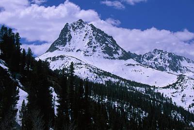 Bishops Peak Photograph - Hurd Peak - Bishop Pass Trail by Soli Deo Gloria Wilderness And Wildlife Photography