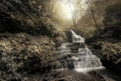 Photograph - Huron Falls by Lori Deiter