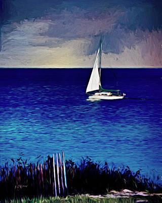 Riverstone Gallery Photograph - Huron Sails by Allyson Schwartz
