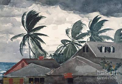 Painting - Hurricane, Bahamas, 1898 by Winslow Homer