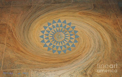 Digital Art - Hurricane Floor by Donna L Munro