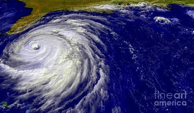 Hurricane Floyd   Art Print