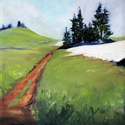 Painting - Hurricane Hill by Nancy Merkle