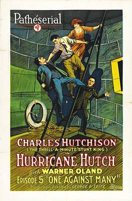 Hurricane Hutch 1921 Art Print by Mountain Dreams