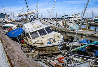Photograph - Hurricane Katrina Damage 1 by Gregory Daley  PPSA