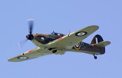 Ww11 Aircraft Photograph - Hurricane Lf363 Mk IIc by Thanet Photos