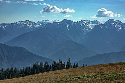 Photograph - Hurricane Ridge by Kyle Lee