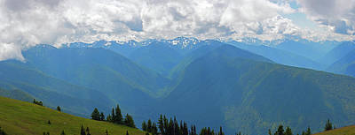 Photograph - Hurricane Ridge Panoramic by Tikvah's Hope