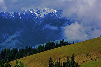 Photograph - Hurricane Ridge by Tikvah's Hope