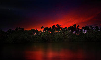 Photograph - Hurricane Sunset by Mark Andrew Thomas