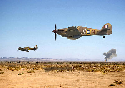 Photograph - Hurricane - Tank Busters by Pat Speirs